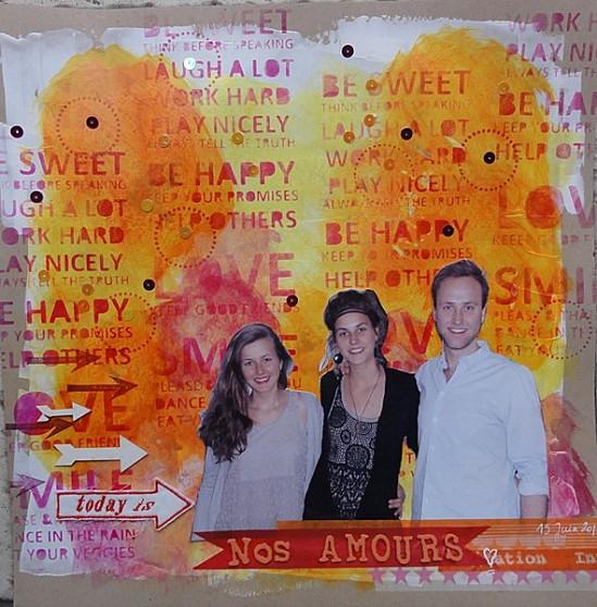 Tara Scrap-Nos amours
