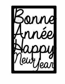 étiquette Bonne année