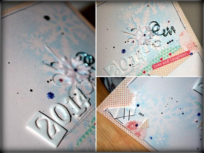 details carte rose et bleue