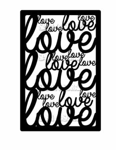 étiquette Love