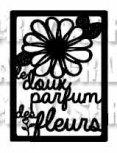 Etiquette Le parfum des fleurs