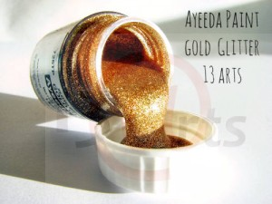 Ayeeda Paint - Gold Glitter