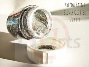 Ayeeda Paint - Silver Glitter