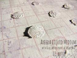 Acrylic liquid medium 3