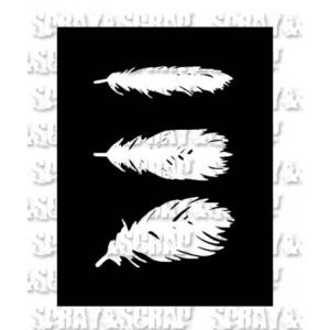 pochoir-plumes