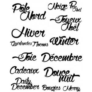 mots-handscript-ensemble-de-noel