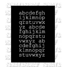 pochoir-alphabet